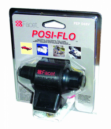 1x Facet FEP04SV Posi-Flow Fuel Pump Clamshell Kit (FEP04SV)