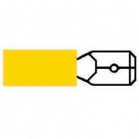 10x Durite - Terminal Yellow 6.30mm Blade - 0-001-28
