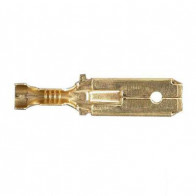 Durite - Terminal 6.30mm Blade with Lock Tag Pk50 - 0-011-21