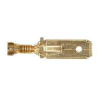 10x Durite - Terminal 6.30mm Blade with Lock Tag - 0-011-21