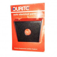 Durite - Switch Panel Vinyl 1 hole Cd1 - 0-241-01