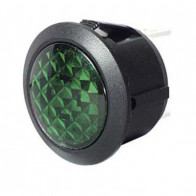 Durite - Warning Light Green LED 12/24 volt Bg1 - 0-607-34