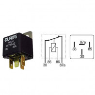 Durite - Relay Mini Normally Closed 20 amp 12 volt Cd1 - 0-727-02