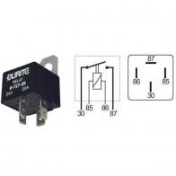 Durite - Relay Mini Make/Break Sealed 30 amp 12 volt + Resistor Cd1 - 0-727-15