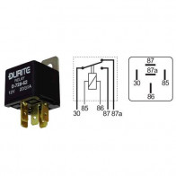 Durite - Relay Mini Change Over (A term) 20/30 amp 12 volt Cd1 - 0-728-62