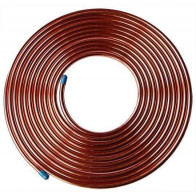 "1M Fuel Malleable Copper Petrol Pipe. 5/16"" OD x 0.256"" ID Vintage ClaSSic Car"