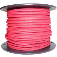 1M Cotton Braided Automotive Electrical Wire Cable 16 Gauge Red