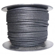 1M Cotton Braided Automotive Electrical Wire Cable 16 Gauge Black