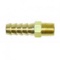 1x BRASS STRAIGHT FUEL UNION 1/8th NPT- 10mm (FPA903/C)