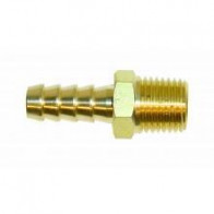 1x FPA904/A Brass Straight Union 1/4 Npt-8mm (FPA904/A)