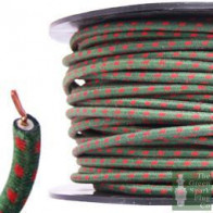 7mm HT Ignition Lead Cable - Wire Core Cotton Braided GRF