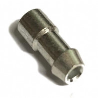10x Bullet terminals connectors brass Crimp Solder 4.7mm Dia - 2.0 mm² wire