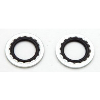 """GS04073 - WASHER - Universal Pack of 10 Petrol Tap Sealing(,Pack of 101/4"""" BSP"""
