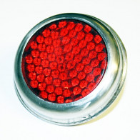 GS19102P - Reflector - UNIVERSAL Pattern Lucas Red with chrome bezel