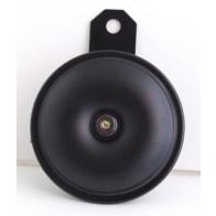 GS35103 - Horn - UNIVERSAL Black 12v , 92mm dia ,90mm length,8mm hole.