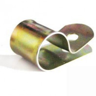 Cable Clip - Zinc Plate For 12.7mm Cable & 5mm hole