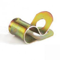 Cable Clip - Zinc Plate For 9.5mm Cable & 7.1mm hole
