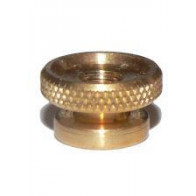 4x Spark Plug Brass Thumb Nut UNC Thread