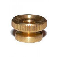 4x Spark Plug Brass Thumb Nut 2BA Thread